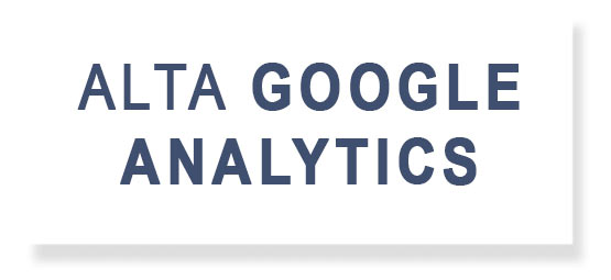 Alta Google Analytics